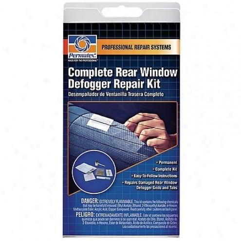 Набор для ремонта нитей и контактов обогревателя заднего стекла