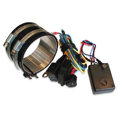 Подогреватель топливного фильтра (бандажный) диаметр 73-88 мм (высокий для VW T5)