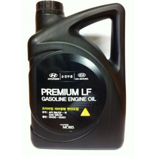 Hyundai/KIA MOBIS 5W20 4L PREMIUM LF GASOLINE SM/GF-4
