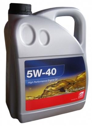 FEBI 5W-40 5L [ACEA A3/B3/B4-04/API SM/SL/CF/MB 229.3/VW 502.00/505.00/BMW LL-98]