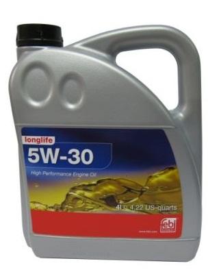 FEBI 5W-30 LL 4L [API SN/CF/ACEA A3/B4/C3/MB 229.51/VW 502.00/505.00/01/BMW LL-04]