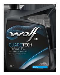 Wolf Guardtech B4 10W-40 5l VW 505.00 / 501.01 MB 229.1, API SL/CF ACEA A3/B4