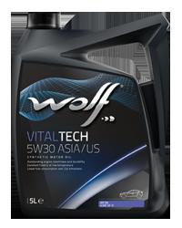 Wolf VitalTech 5W-30 4л ASIA/US CHRYSLER MS 6395T FORD WSS-M2C-945A/B GM DEXOS 1 ILSAC GF-5, API SN
