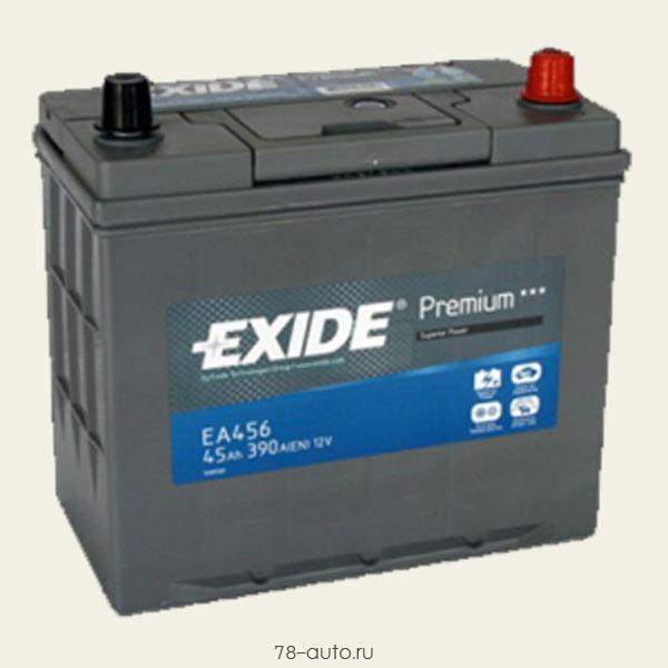 Аккумулятор Premium 45Ah 390A (L +, 1/3) 234x127x220 mm
