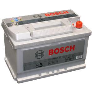 Аккумулятор BOSCH S5 SILVER PLUS 12V 74AH 750A ETN 0(R+) B13