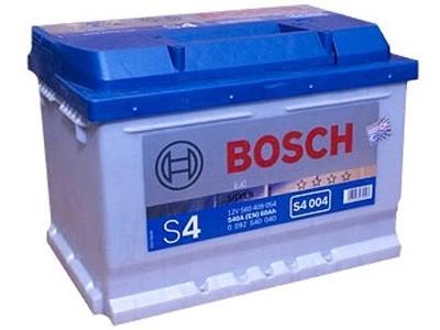 Аккумулятор BOSCH S4 SILVER 12V 60AH 540A ETN 0(R+) B13