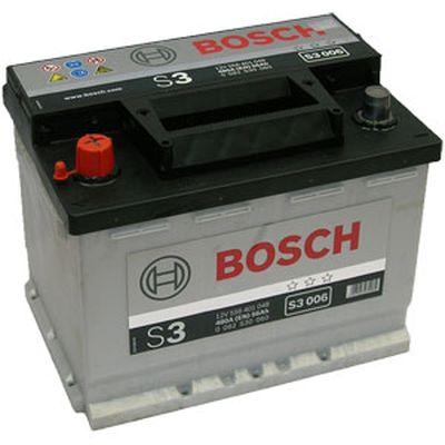 Аккумулятор BOSCH S3 12V 53AH 470A ETN 0(R+) B13