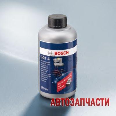 BOSCH жидкость тормозная 0,25 л DOT4