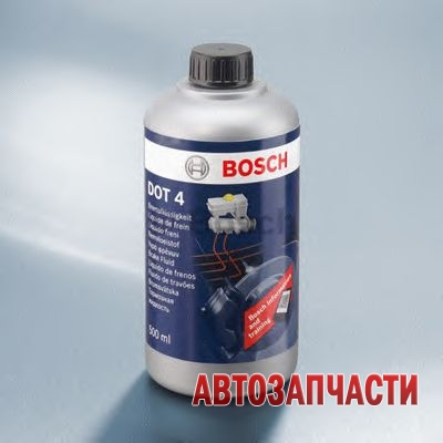 BOSCH жидкость тормозная 0,5 л DOT4