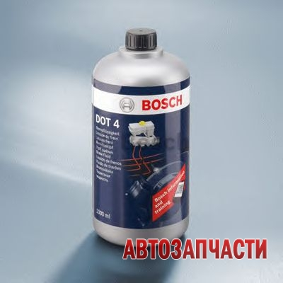 BOSCH жидкость тормозная 1 л DOT4