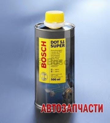 BOSCH тормозная жидкость DOT5.1 SUPER 1л