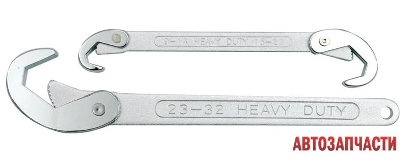 Набор ключей универсальных, VOREL  9 - 32 мм, 2 пр.