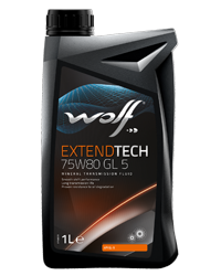 WOLFEXTENDTECH75W80 GL 5 1l