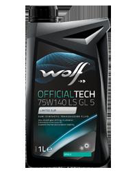 WOLFOFFICIALTECH75W140 LS GL 5  1L