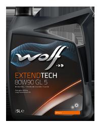 WOLF EXTENDTECH 80W90 GL 5 5l