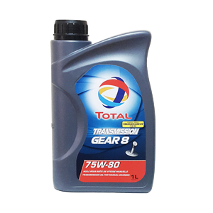 Total TRANSMISSION GEAR 8 75W-80, 1L