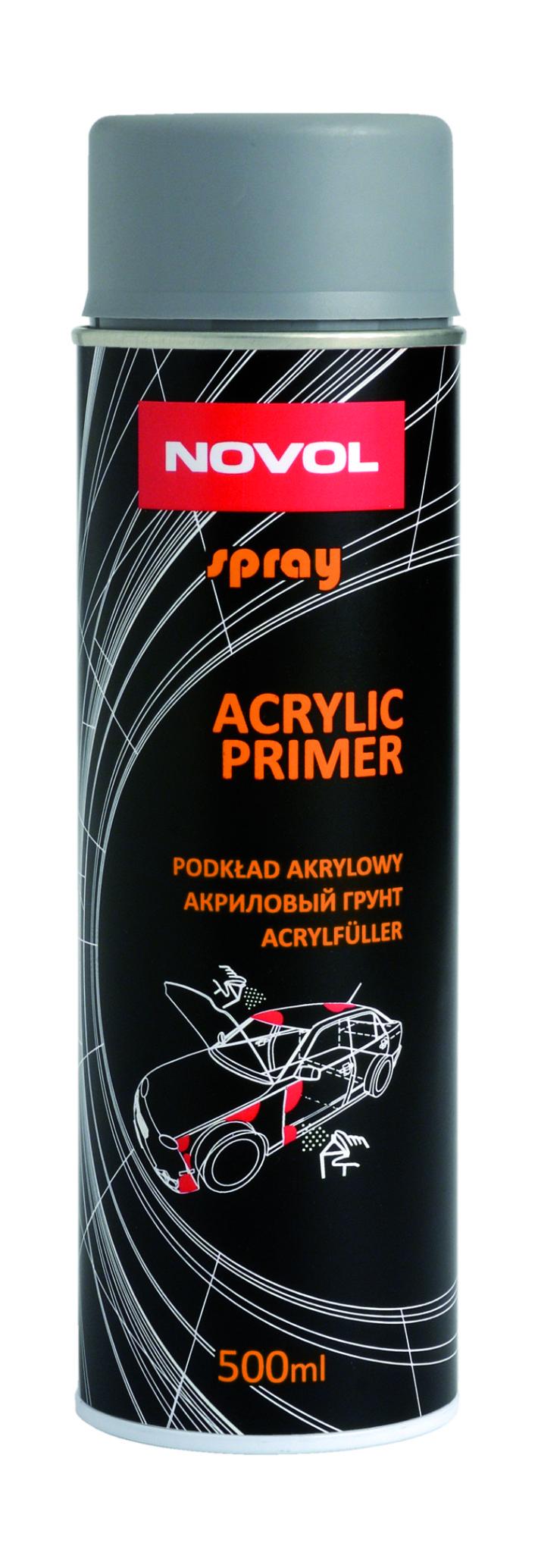 NOVOL ACRYLIC PRIMER - АКРИЛОВЫЙ ГРУНТ 500мл.