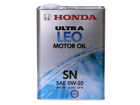 HONDA Ultra LEO SN/GF-5 0W-20, 4л  (железная банка)