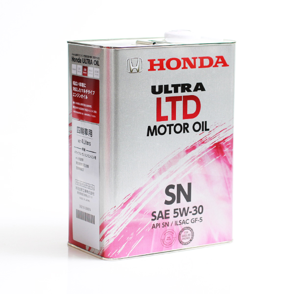 Honda Ultra LTD SN/GF-5 5W-30, 4л  (железная банка)