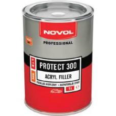 NOVOL PROTECT 300 - АКРИЛОВЫЙ ГРУНТ СЕРЫЙ 1 л. (MS)