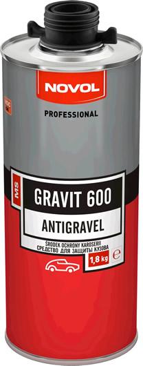 NOVOL GRAVIT 600 - СРЕДСТВО ДЛЯ ЗАЩИТЫ КУЗОВА 1.8 кг. ЧЕРНЫЙ