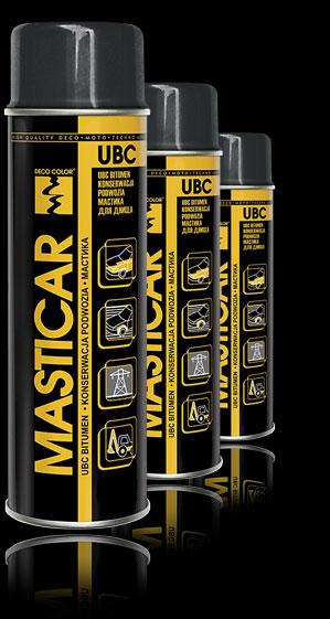 Средство для консервации шасси MASTICAR UBC 500 мл аэрозоль.