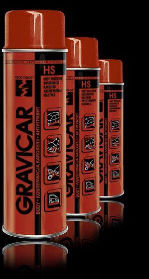 Гравитекс GRAVICAR HS ЧЕРНЫЙ 500мл.