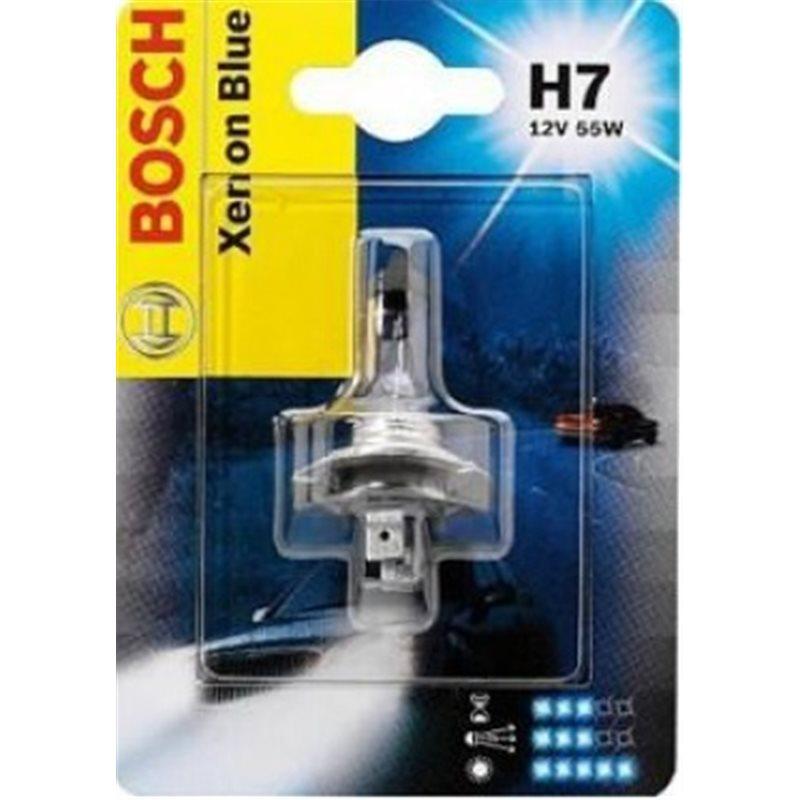 Автолампа BOSCH H7 Xenon Blue (12V 55W)