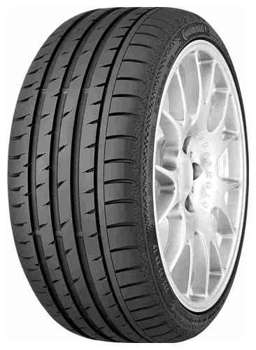 Шина летняя CONTINENTAL 275/40ZR19 ContiSportContact3 101Y
