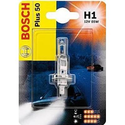 Автолампа BOSCH H1 Plus 50 (12V 55W)