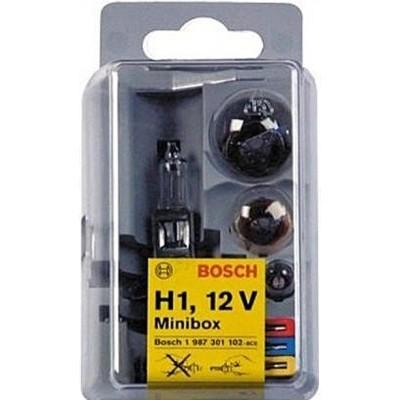 Комплект автоламп BOSCH H1 Minibox (P21W, R5W, T4W, 1x10A, 1x15A, 1x20A)