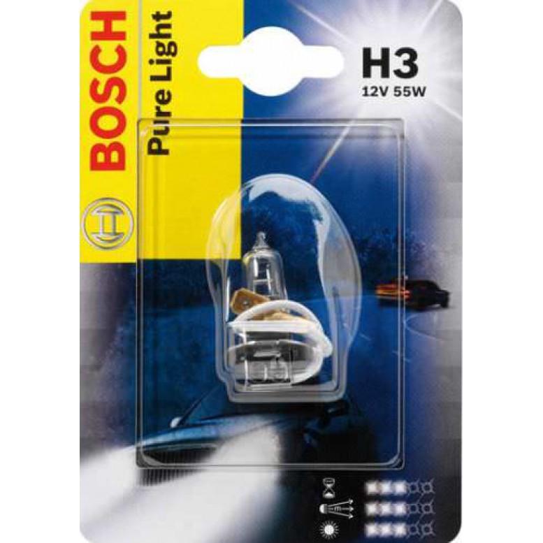 Автолампа BOSCH H3 Standart (12V 55W)