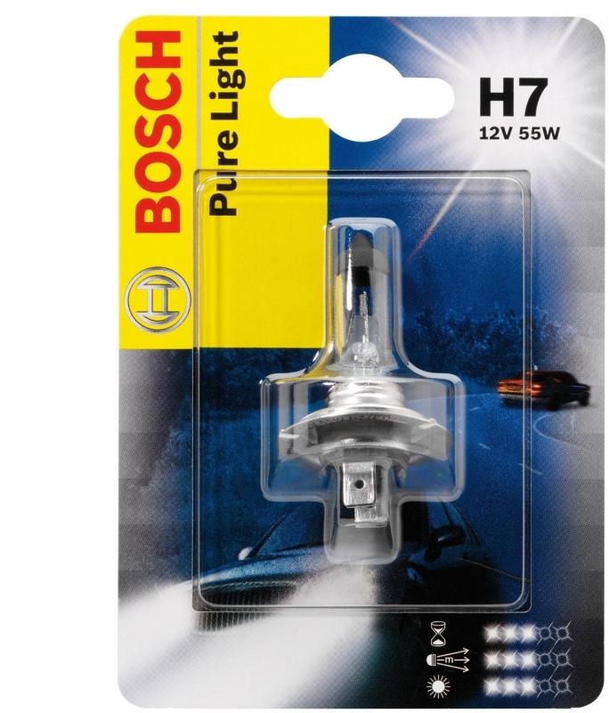 Автолампа BOSCH H7 Standart (12V 55W)