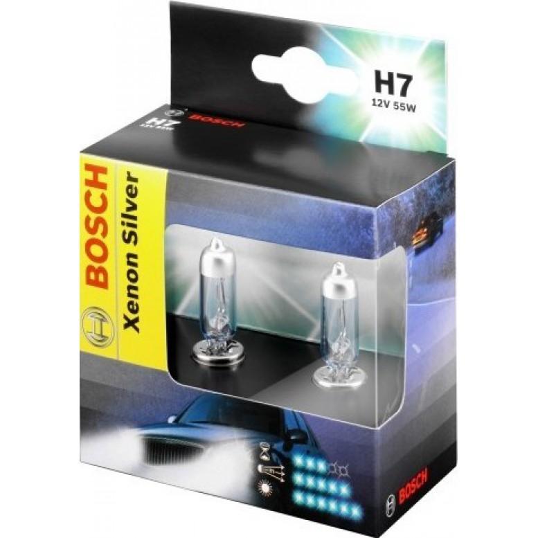 Комплект ламп BOSCH H7 XENON SILVER