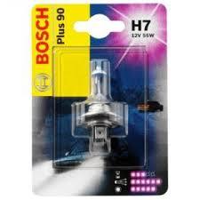 Автолампа BOSCH H7 PLUS 90 (12V 55W, PX26d)
