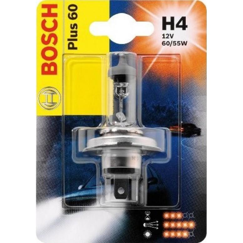 Автолампа BOSCH H4 Plus 60 (12V 60/55W)