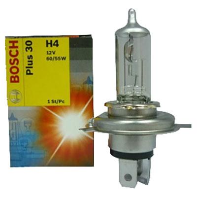 Автолампа BOSCH H4 Plus 30 (12V 60/55W)