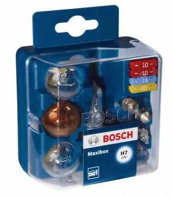 Комплект ламп BOSCH H4 Maxibox (P21W, PY21W, R5W, T4W, P21/5W, W5W, C5W, 2x10A, 1x15A, 1x20A)