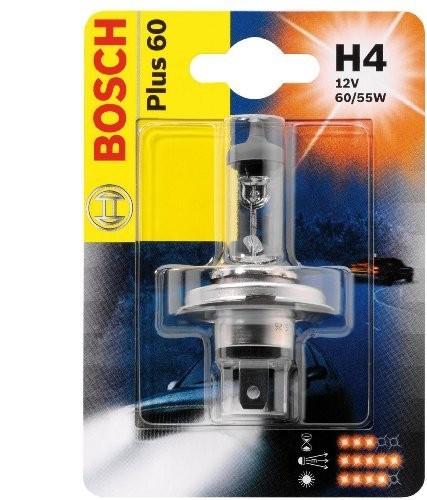 Автолампа BOSCH H4 Extralife  Plus 60 (12V 60/55W)