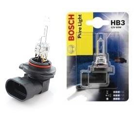 Автолампа BOSCH HB3 (12V 60W)