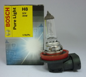 Автолампа BOSCH H8 Pure Light (12V 35W PGJ19-1)