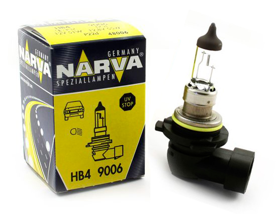 Автолампа NARVA HB4 (12V 51W P22d)