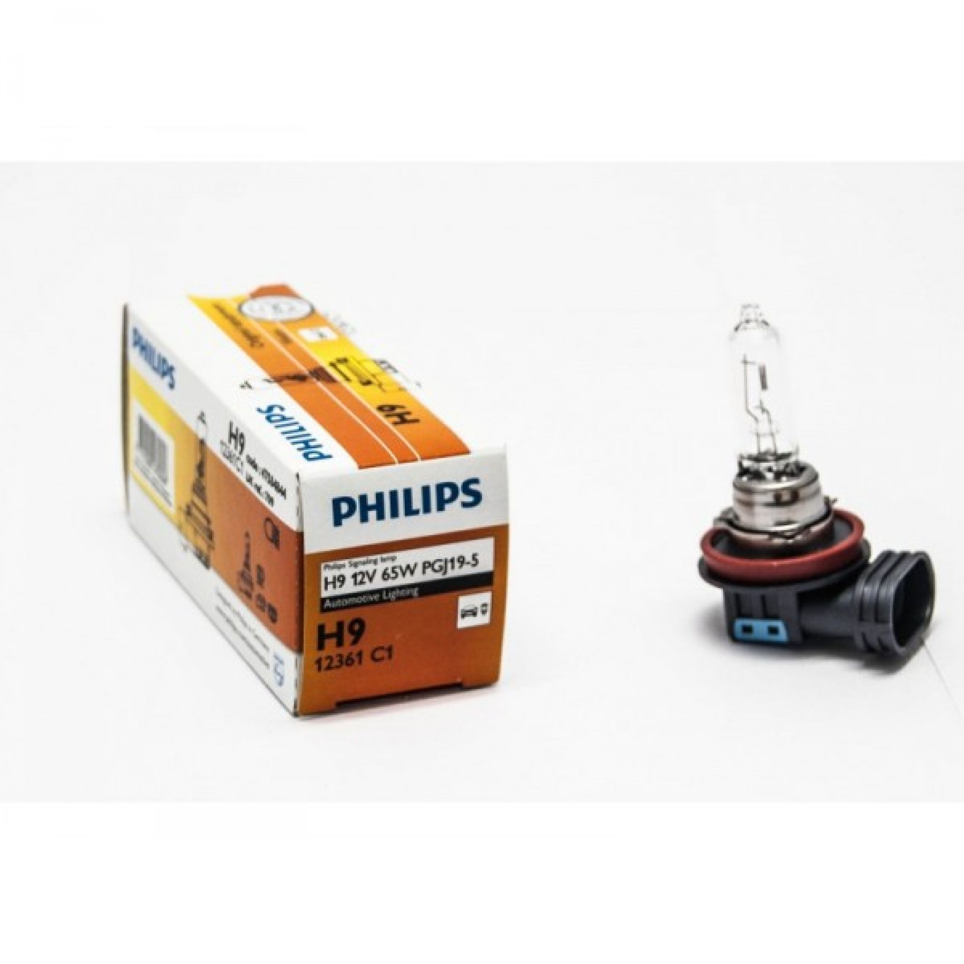 Автолампа Philips H9 Standard (12V 65W PGJ19-5)