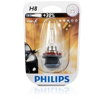 Автолампа Philips H8 (12V 35W PGJ19-1)