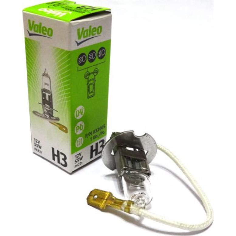 Автолампа Valeo Н3 Essential (12V 55W PK22s)
