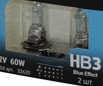 Комплект ламп Valeo HB3 Blue Effect (12V 65W P20d)