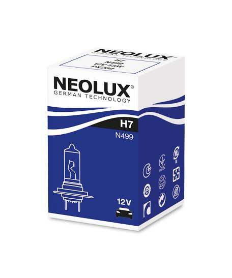 Автолампа Neolux H7 Standart (12V 55W PX26d)