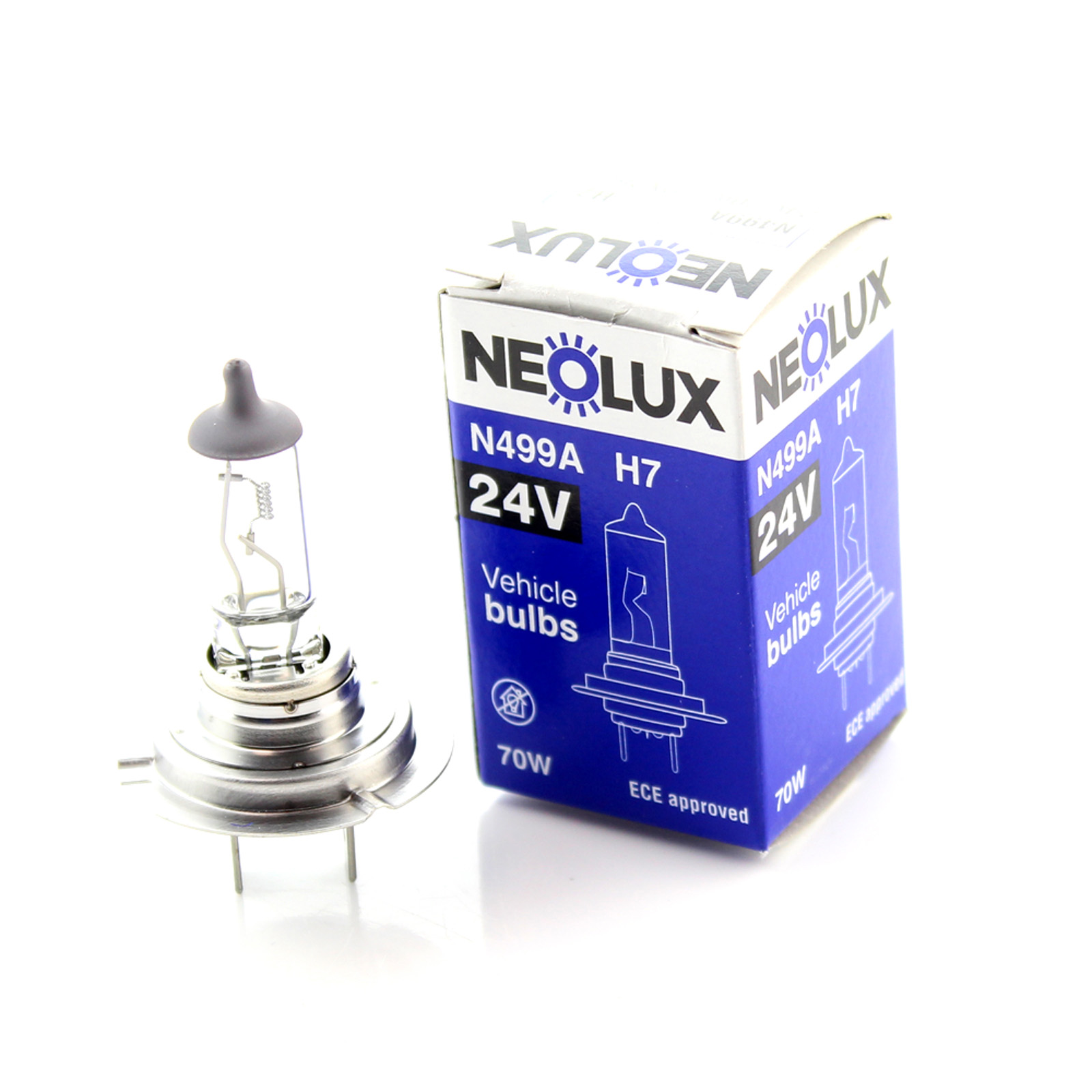 Автолампа Neolux H7 Standart (24V 70W PX26d)