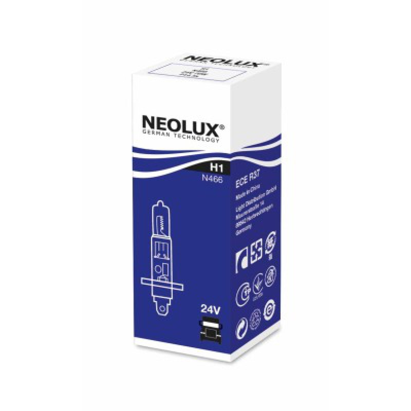 Автолампа Neolux H1 Standart (24V 70W P14.5s)