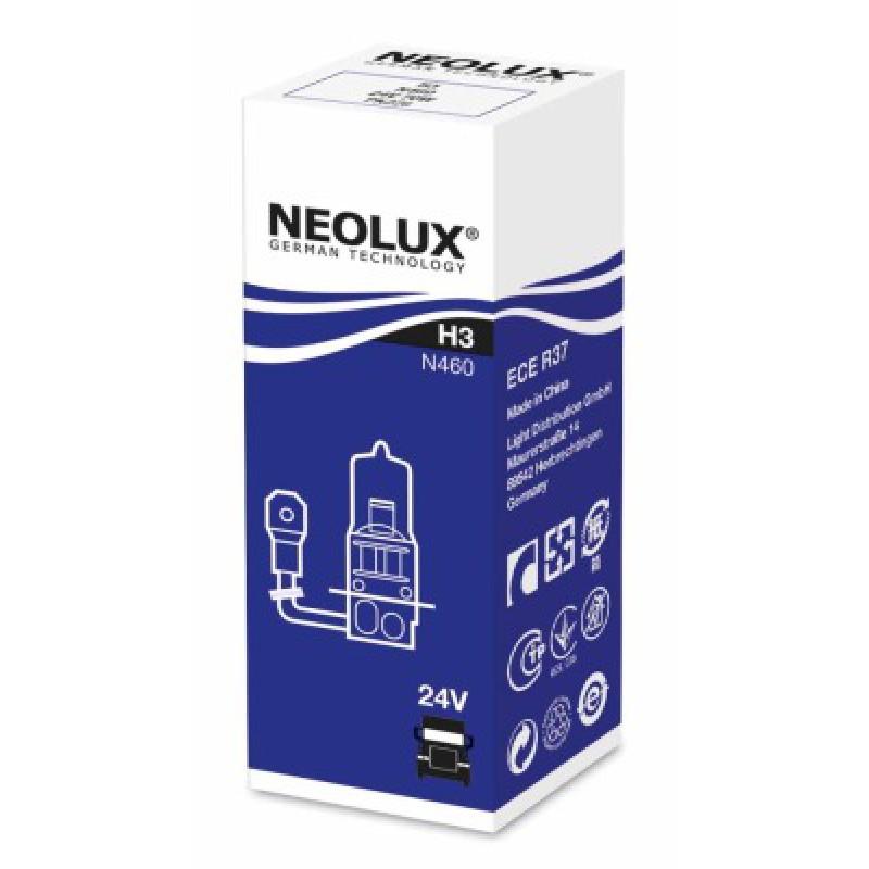 Автолампа Neolux H3 Standart (24V 70W PK22s)
